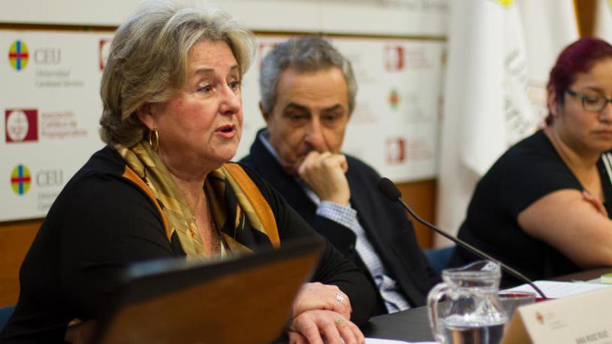 """Ana Ruiz: """"Molta gent no coneix el treball de l'esglèsia de base"""""""