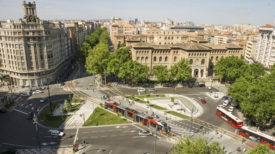 El Tranvía de Zaragoza, un medio plenamente ecológico