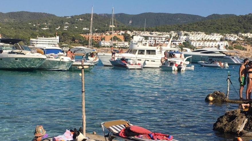 Más del 90% de barcos para alquiler han estado activos en julio y agosto en las Pitiusas