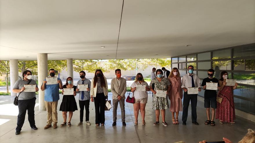 25 estudiantes con discapacidad intelectual se gradúan por la Universidad de Alicante