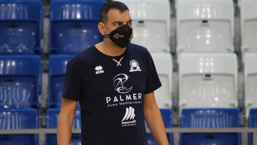 """Álex Pérez: """"Hemos estado blanditos en defensa y el Lleida lo ha aprovechado"""""""