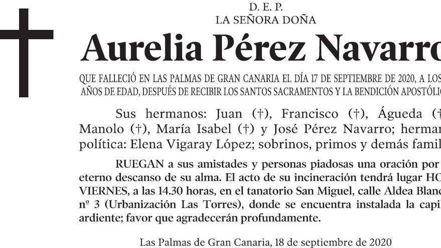 Aurelia Pérez Navarro