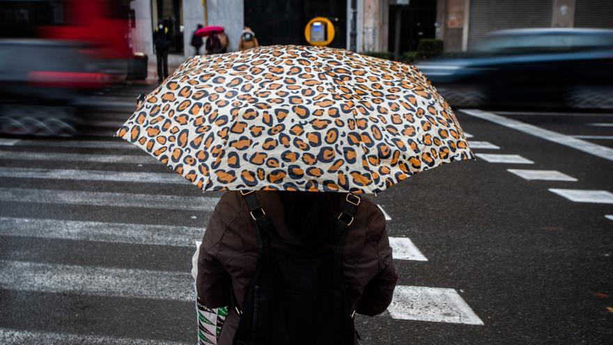 El tiempo en València: lluvias fuertes para este domingo