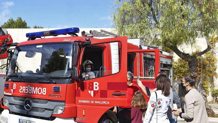 Homenaje al bombero Joan Cifuentes