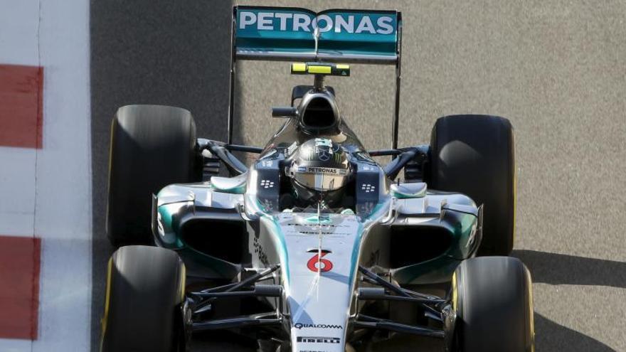 Rosberg el más rápido en los libres; Alonso, noveno