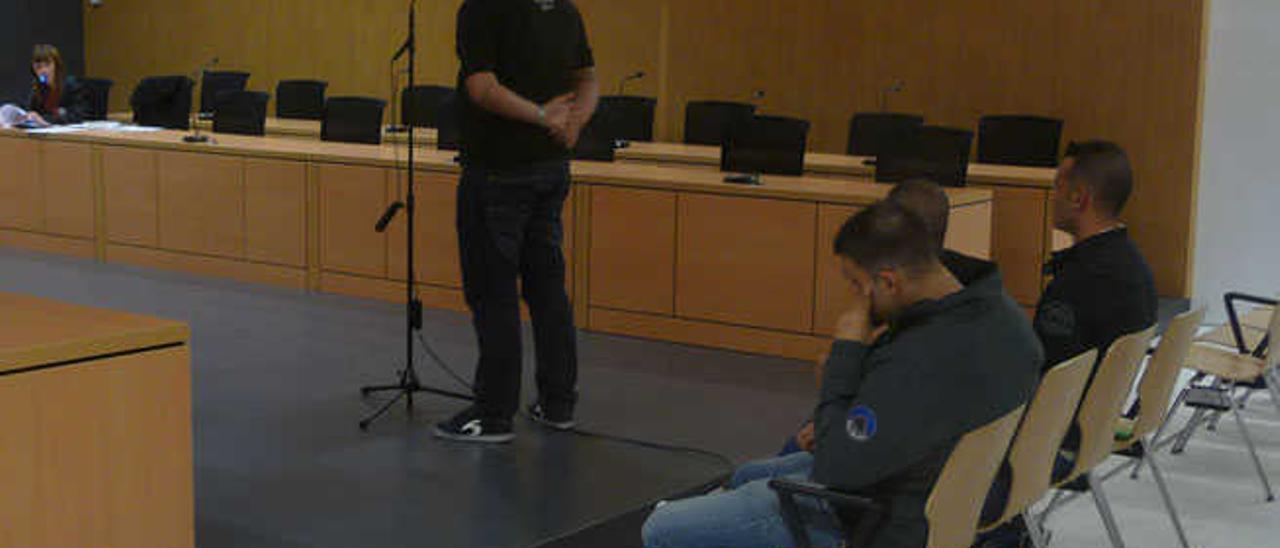 Uno de los agentes declara en el juicio celebrado ayer en Penal número 6.