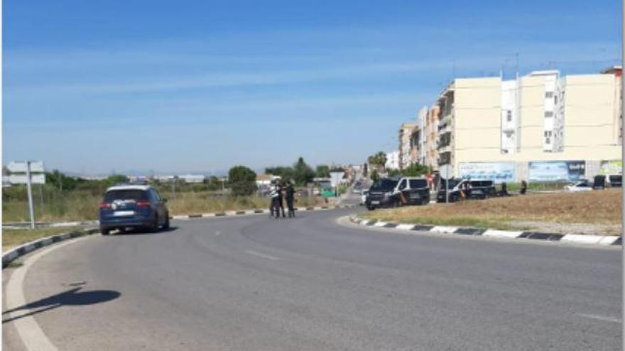 Detenido un atracador tras una espectacular persecución en València