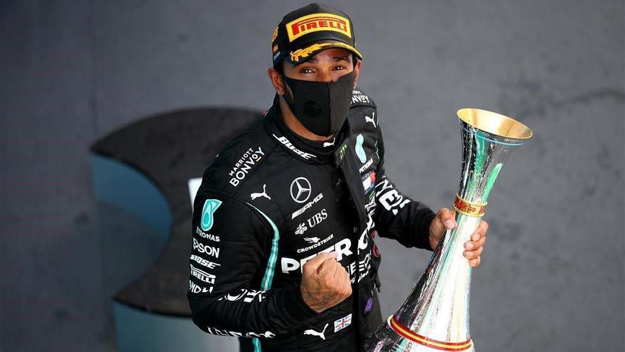 Hamilton domina de principio a fin