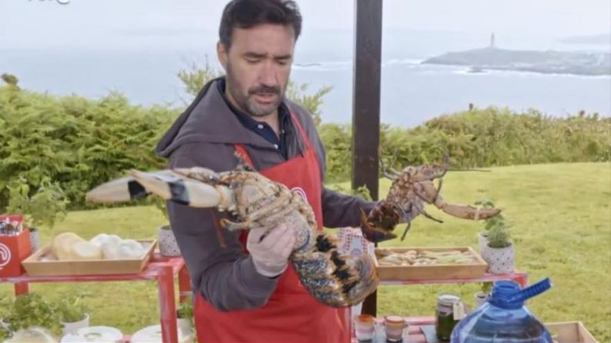 El marisco de 'Masterchef Celebrity' en A Coruña, extranjero y de cetárea
