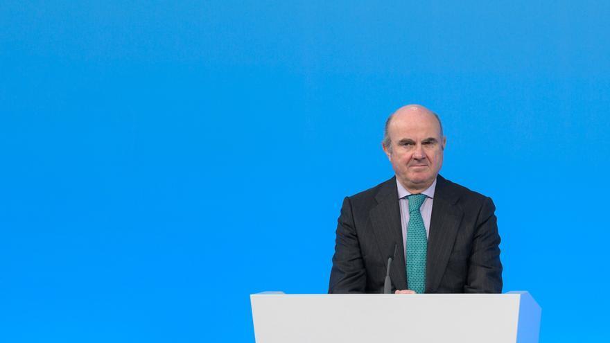 Luis de Guindos avanza una mejora de las perspectivas macroeconómicas del BCE