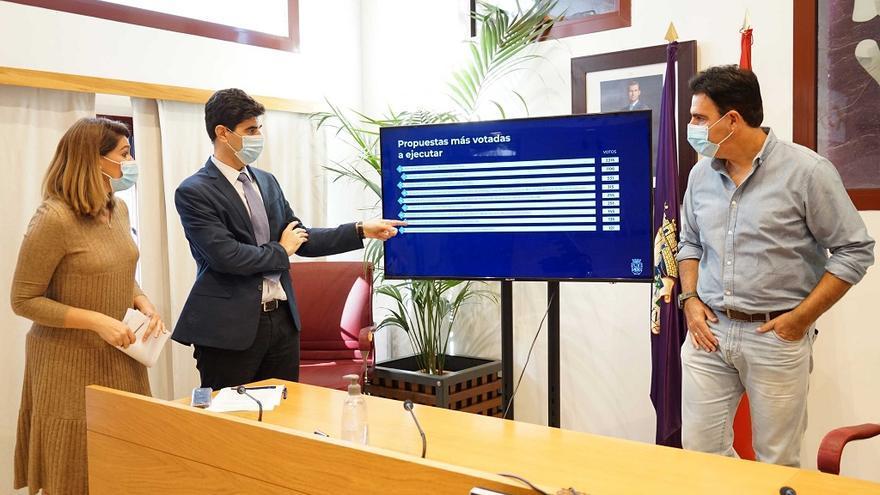 Más de 5.000 vecinos votan los nueve proyectos de los Presupuestos Participativos de Coín
