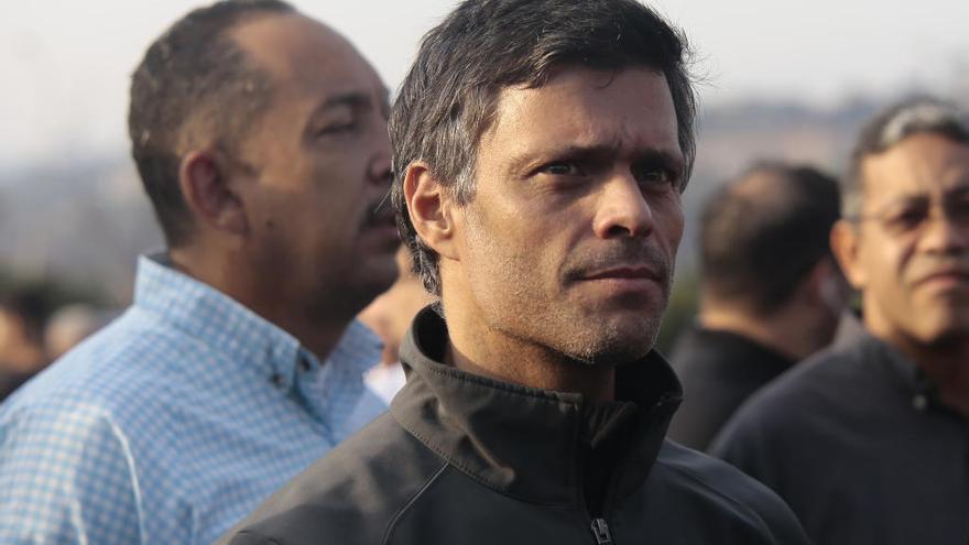 """Leopoldo López está como """"huésped"""" en la embajada española en Caracas"""