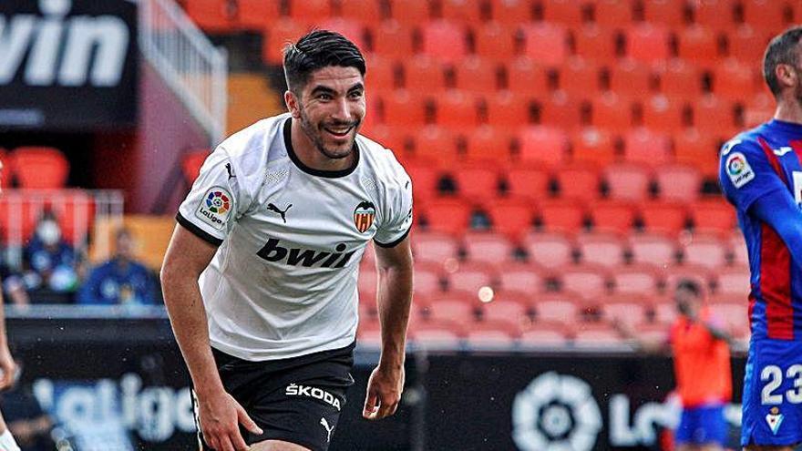 Carlos Soler, a la altura de la historia