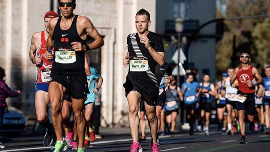 Los famosos corren el Maratón Valencia Trinidad Alfonso