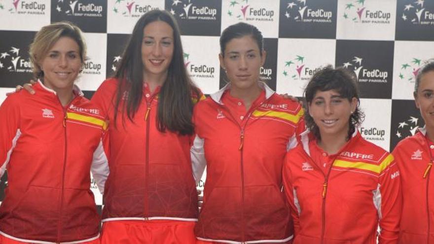 Carla Suárez abrirá la eliminatoria de Copa Federación en La Manga Club