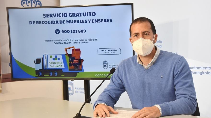 Fuengirola retira 284 toneladas de muebles y enseres de la vía pública en el primer trimestre de 2021