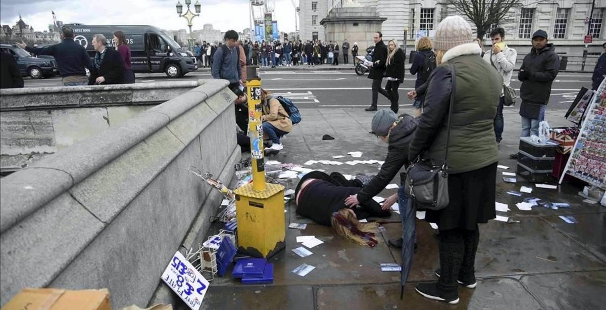 Ataque en el centro de Londres