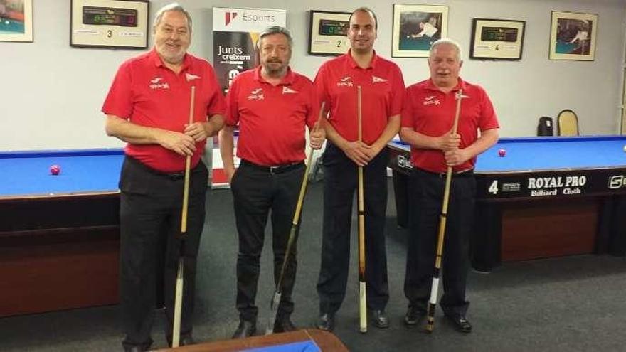 El Grupo roza el ascenso a la Primera División de billar