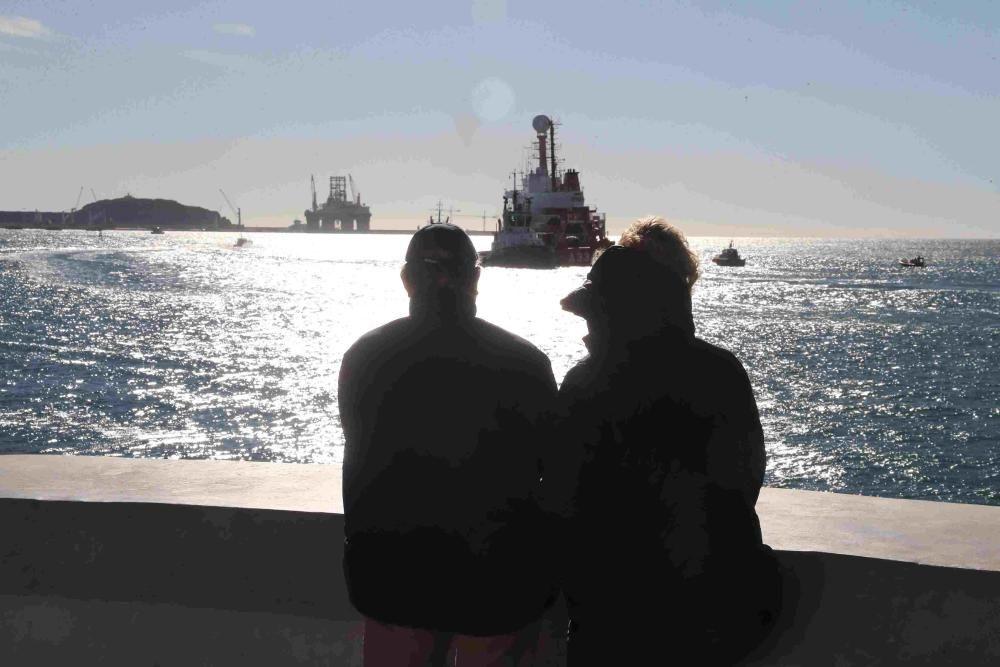 Despedida del Hespérides en Cartagena