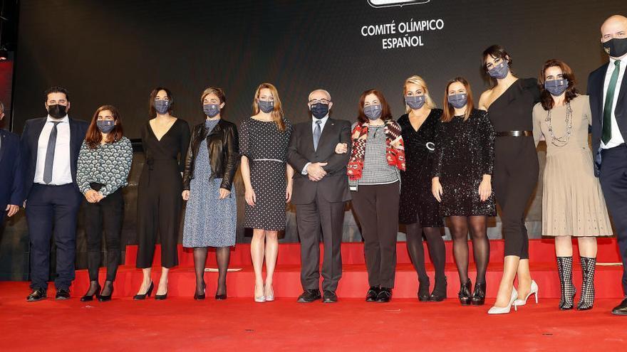 Las deportistas de la UCAM brillan en la Gala del Comité Olímpico Español