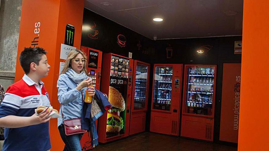 Un estudio busca mejorar la calidad de los productos de las máquinas de vending