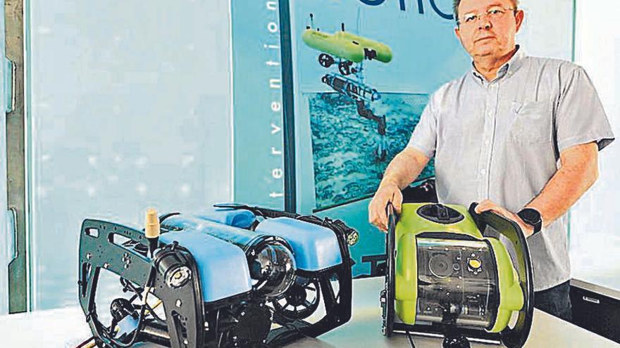'La Panderola' descubre el robot de la UJI 'Seabotics'