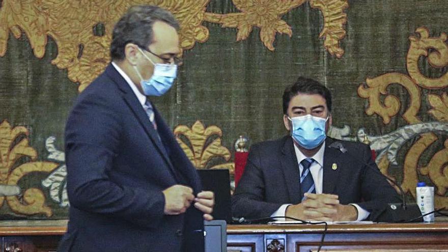 El PSPV avala a Sanguino: «Facilitar el Presupuesto no es un cheque en blanco»