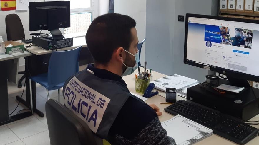 Un robo con violencia en Elche permite descubrir a un estafador por internet