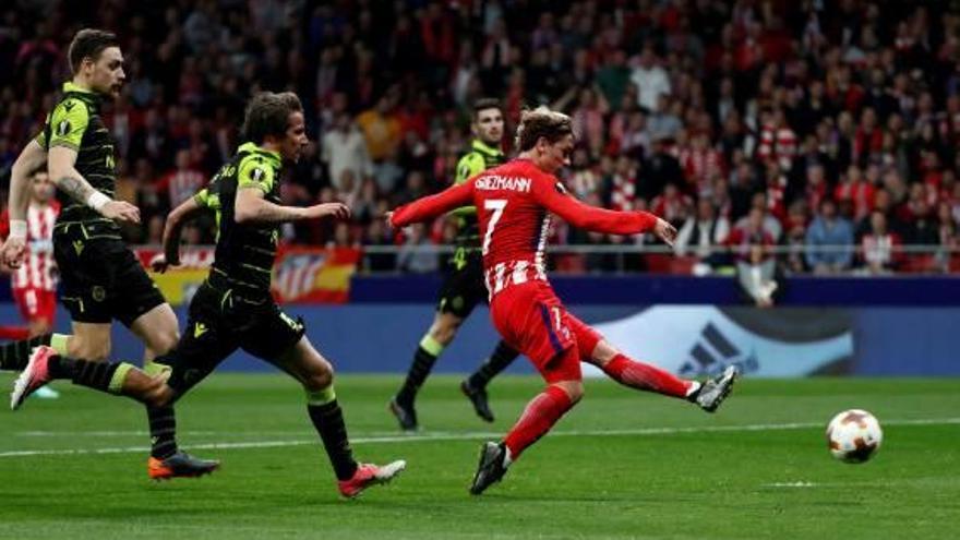 Lliga Europa L'Atlètic s'acosta a les semifinals