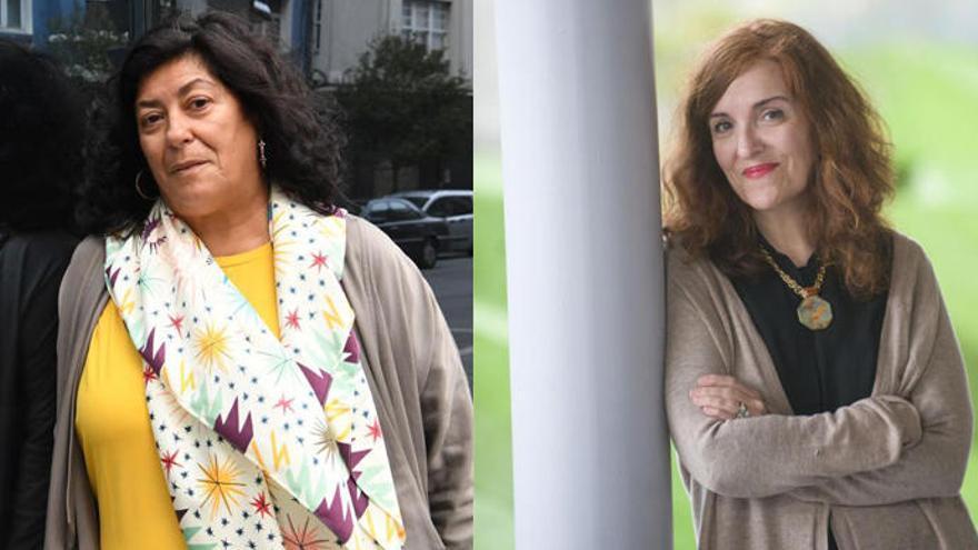 Almudena Grandes y Elvira Lindo presentan sus novelas en la Fundación Seoane