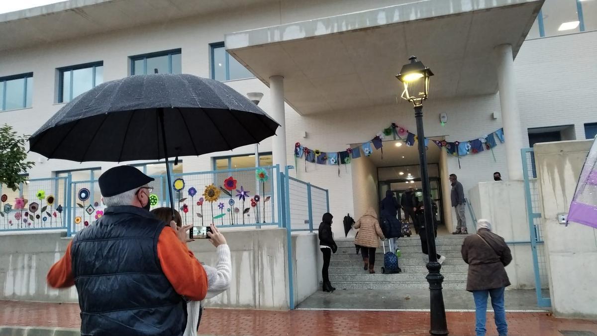 Los niños de La Xara entran a su nuevo colegio