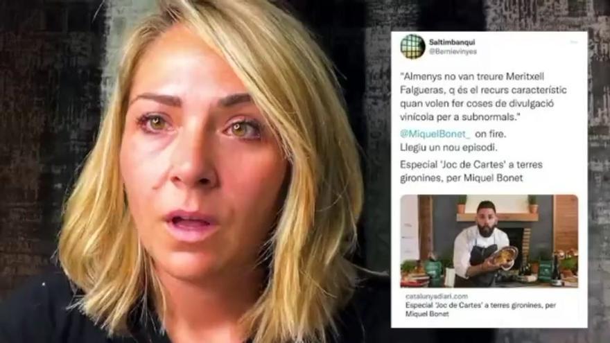 La sumiller Meritxell Falgueras denuncia 'acoso e insultos' en las redes