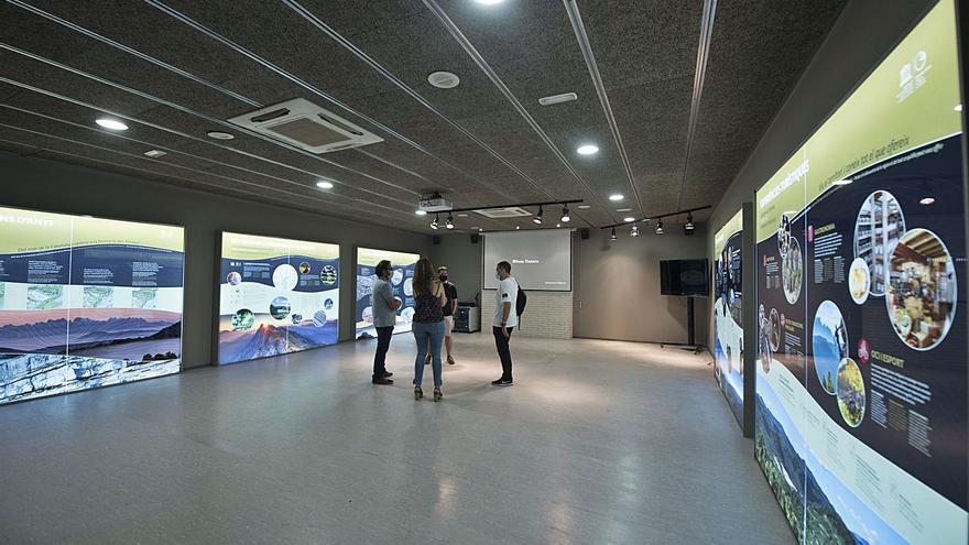 El Geoparc preveu obrir el centre explicatiu a l'antic CAT de Sallent passat l'estiu