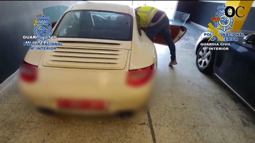 La 'operación Troleo' desmantela una red de robo y tráfico ilícito de vehículos con 10 detenciones, dos de ellas en A Coruña