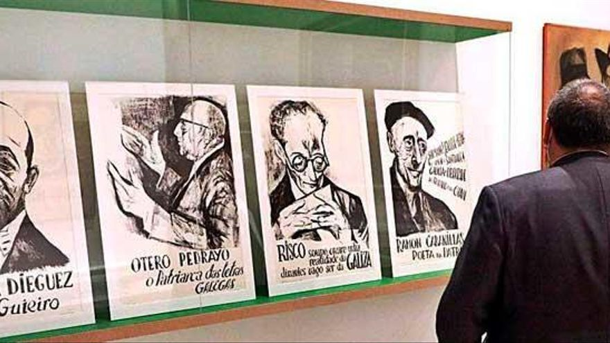 La Xeración Nós luce su legado en el Gaiás en una exposición con más de 300 piezas