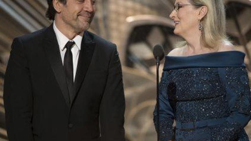 Javier Bardem i Meryl Streep