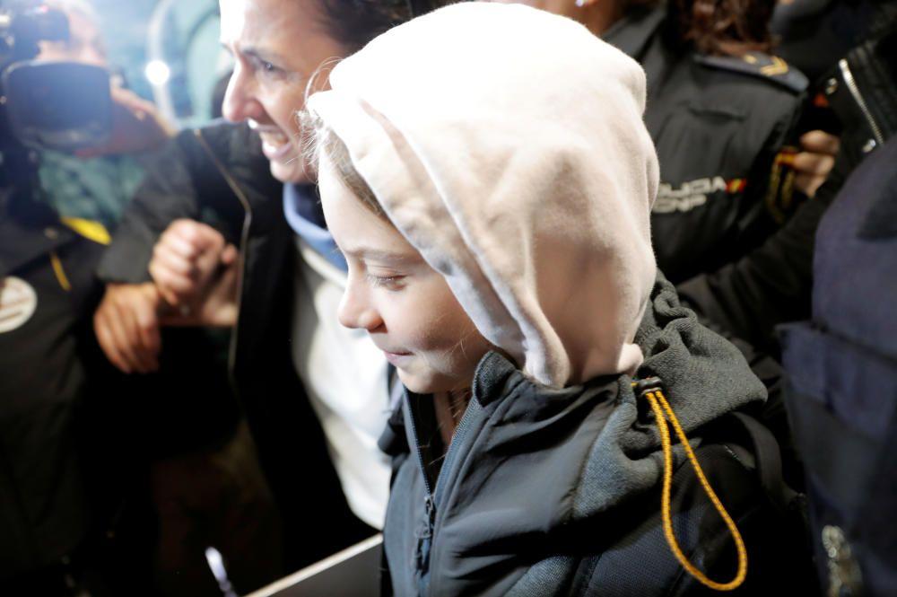 Greta Thunberg, en la Cumbre del Clima en Madrid