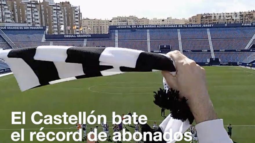 El Castellón celebra la gesta de su afición