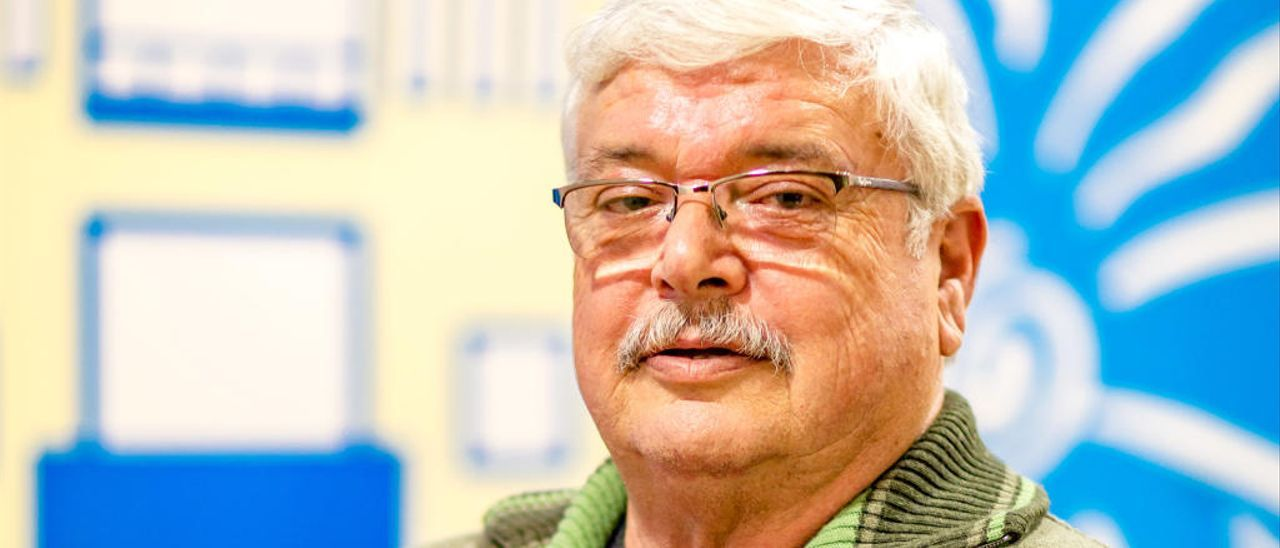Batiste Rostoll Agulló tras ser elegido presidente.