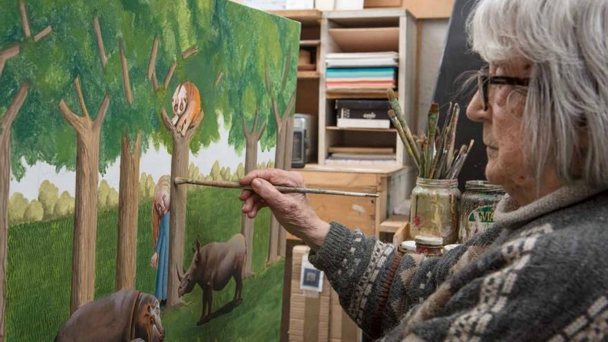 """""""Con el confinamiento tuve todavía más necesidad de pintar un mundo idílico"""""""