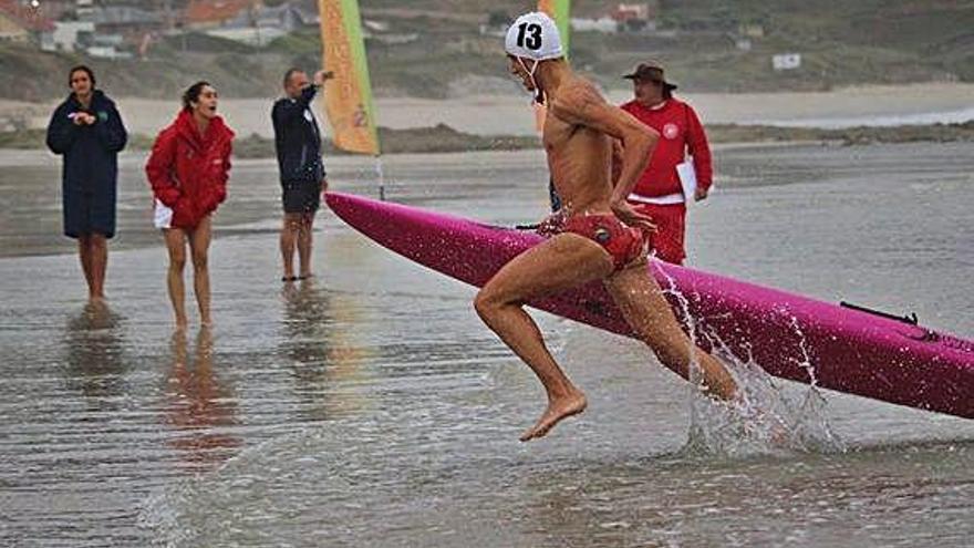 Javier Huerga pulveriza dos récords de España