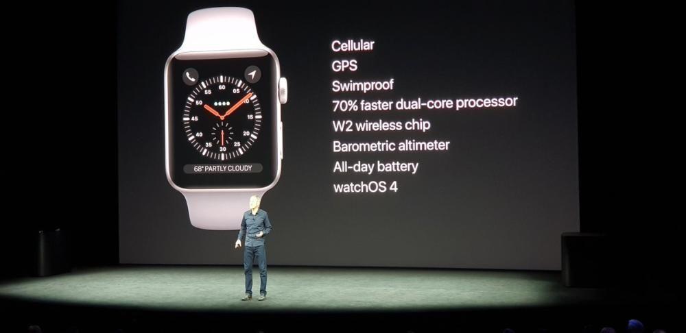 Principales características del Apple Watch Series 3.