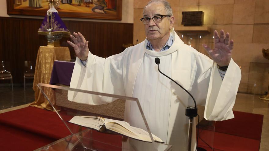 Castellón despide a Joaquín Esteve, sacerdote en la iglesia Santa Joaquina de Castelló