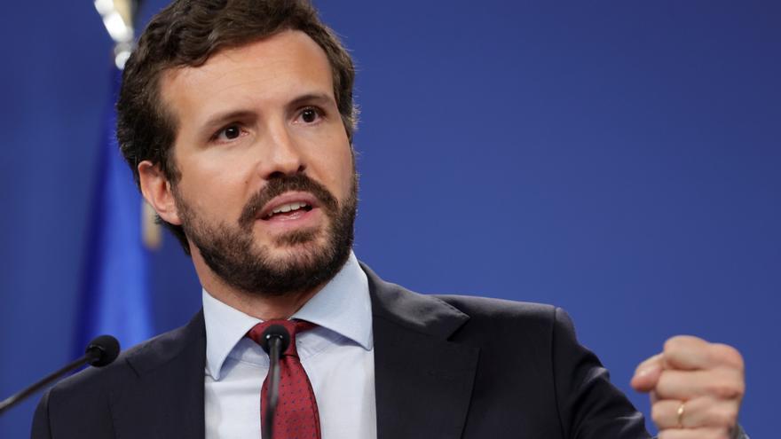 Casado reta a Sánchez a pactar el lunes la renovación del CGPJ