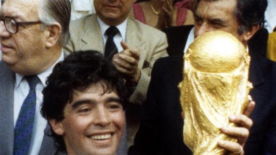 El día que Maradona rechazó ser jurado de los Premios Príncipe de Asturias de los Deportes