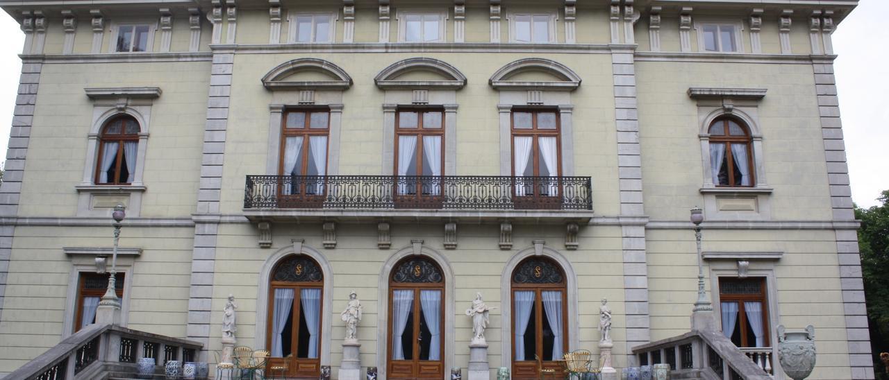 El Palacio de los Selgas en Cudillero.