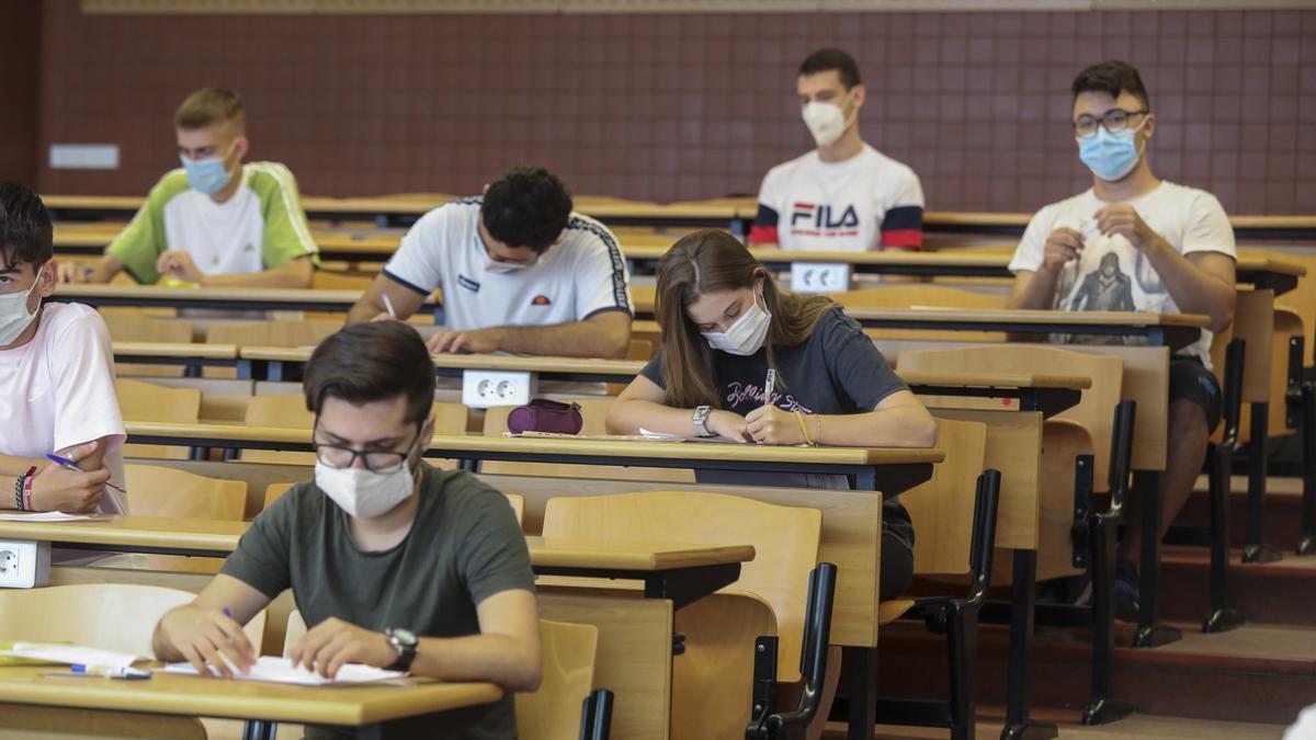 La Universidad Miguel Hernández de Elche vuelve a recibir a los estudiantes para la Selectividad 2021