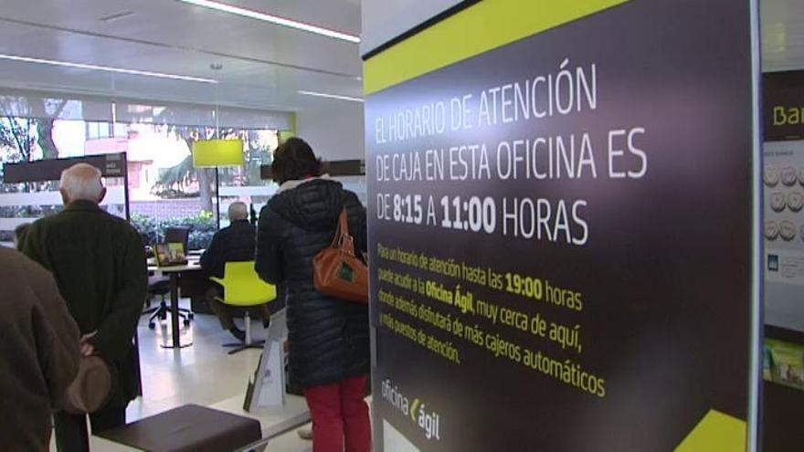 Bankia plantea un ajuste de plantilla de 2.510 empleados por la fusión con BMN