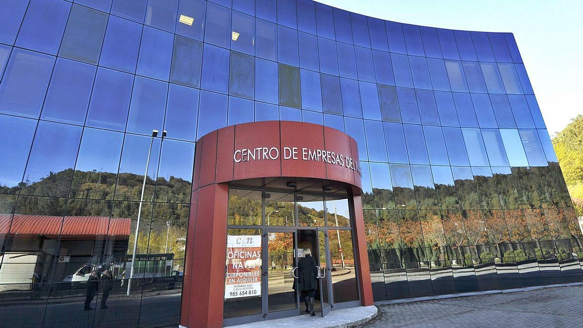 El centro de empresas del polígono de La Central, en El Entrego.