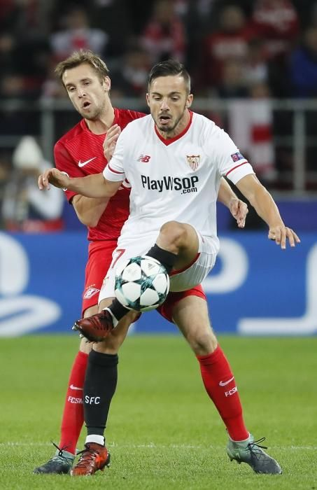 Spartak de Moscú vs Sevilla FC